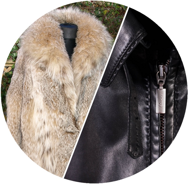 FUR, SUEDE & LEATHER